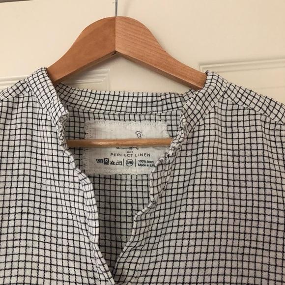 not perfect linen dresses notperfectlinen french boyfriend shirt dress poshmark. Black Bedroom Furniture Sets. Home Design Ideas